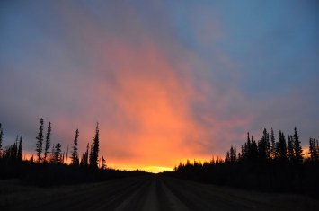 sunrise on the zama road_ltiminsky